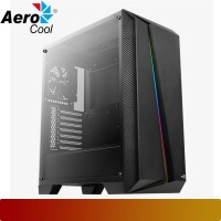 AeroCool - Cylon Pro Black Tempered Glass Case