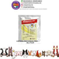 mitravit 100 mitravit-100 isi 100 gram - obat anti stress untuk hewan