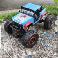 Mainan Mobil remot control offroad Rc car rock crawler climbing cart