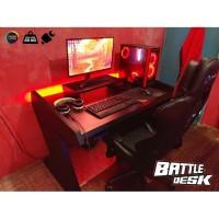 Jual Meja Komputer Gaming PC Desk RGB murah 128x80 ...