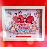 Souvenir Ekslusif Imlek Pop Up Frame Chinese New Year Kado Hadiah 2020