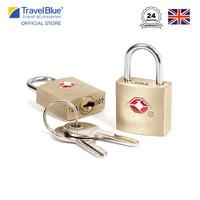 Travel Blue 2 x Gembok Koper Travel Sentry ® Approved Lock TB023