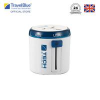 Travel Blue Twist & Slide Worldwide Travel Adaptor TB262