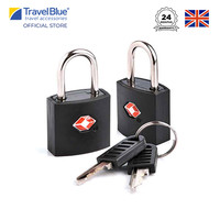 Travel Blue 2 x Gembok Koper Identi Travel Sentry ® TSA Approved Lock