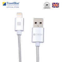 Travel Blue Iphone Lightning Connector Data Sync Charge Cable TB983