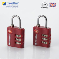 Travel Blue Gembok Koper 3 Dial Combination isi 2 TB038