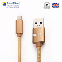 Travel Blue Type C Data Sync and Charge Cable TB985