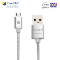 Travel Blue Deluxe Micro USB Data Sync and Charge Cable TB984
