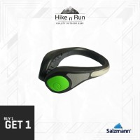 Salzmann Outdoor Cycling Running Reflective LED Shoe Light Green
