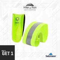 Salzmann 3M LEDs and Reflektif Band - Gelang Reflektor - Arm Leg band