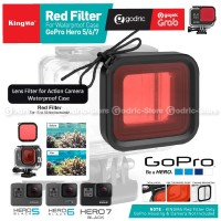 KINGMA BMGP320 Red Filter Underwater Waterproof Case GoPro Hero 5 6 7