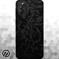 [EXACOAT] Galaxy M30s Skins 3M Skin / Garskin - Black Camo