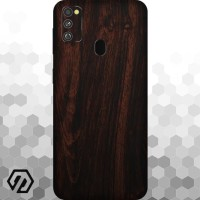[EXACOAT] Galaxy M30s 3M Skin / Garskin - Wood Mahogany