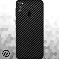 [EXACOAT] Galaxy M30s 3M Skin / Garskin - Carbon Fiber Black