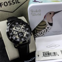 Fossil ME3028 Grant Automatic Black Leather Watch