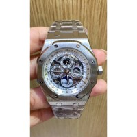 Jam tangan Audemars Piguet Silver GMT Matic Japan