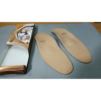 Alas Kaki Sole Tacco Deluxe Size 43 Made in Germany