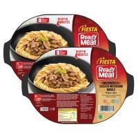 FIESTA READY MEAL PAKET CHICKEN MUSHROOM W/NOODLE S/BOX 300 GR (6PCS)