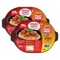 FIESTA READY MEAL PAKET ITALIAN MEATBALL W/S. BOLOGNESE 300 G (6PCS)