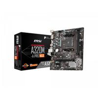 MSI A320M-A Pro MAX (AM4, AMD Promontory A320, DDR4, USB3.2, SATA3)