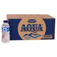 Aqua Botol Mini 330ml 1karton isi 24pcs