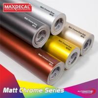MAX DECAL MATT CHROME PREMIUM WRAP LENTUR METALIK DOFF 152 CM METERAN