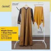 Maple Dress + Shas Fine Gold by Shasmira