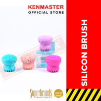 Silicone Brush Pembersih Wajah Model Gurita - OL009 thumbnail