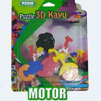 puzzle satuan 3d motor (new)