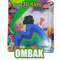 puzzle satuan 3d ombak