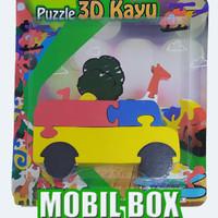 puzzle satuan 3d mobil box