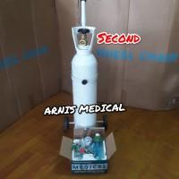 Tabung oksigen oxygen second,seken,bekas