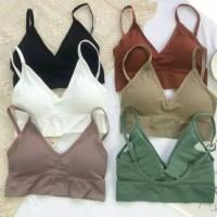 Sexy Backless Sport Bra Bralette Cotton Nyaman