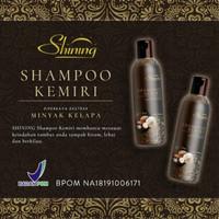 SHINING SHAMPO KEMIRI 250ML ORIGINAL - SHAMPO KEMIRI SHINING
