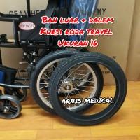 "Ban kursi roda ukuran "" 16 × 1.75 original "" sparepart kursi roda"