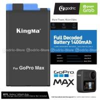 KingMa Baterai Replacement Battery for GoPro MAX Hero 360 SPCC1B