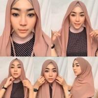Jilbab Instan Wanita Hijab Pastan Pashmina Instan Tali murah terbaru