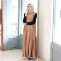Baju Long Dress Hijab Baju Gamis Murah Baju Gamis Wanita Terbaru OA3