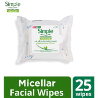 Simple Kind To Skin Micellar Cleansing Wipes [25 Wipes] thumbnail