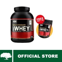 Optimum Nutrition 100% WHEY Gold Standard-Chocolate 5lb + 1lb Pouch