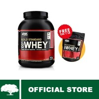 Optimum Nutrition 100% WHEY Gold Standard-Strawberry 5lb + 1lb Pouch