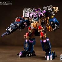 Transformers IronFactory EX-20A Decepticon Amethyst Amethyst Thermal Connection