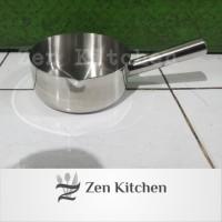 panci susu milk pot gayung stainless 16 cm tebal 1,2 mm