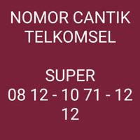Nomor Cantik TELKOMSEL KHUSUS DAN SUPER CANTIK