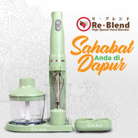 ReBlend RL-100 High Speed Hand Blender | Blender Tangan