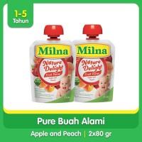 [Paket Bundling Hemat] Buy 2 Milna Nature Delight 80gr