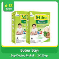 [Paket Bundling Hemat] Buy 2 Milna Bubur Reguler 6 Bln 120 G