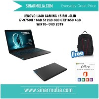 LENOVO L340 GAMING i7-9750H 16GB 512GB SSD GTX1650 4GB WIN10- OHS