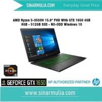 HP PAV GAMING 15-EC0037AX AMD Ryzen 5 3550H 8 GB 512GB Nvidia GTX 1650