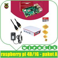 Raspberry Pi4 - Paket Siap Rakit Pilih Casing